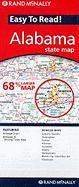 Cover-Bild zu Easy to Read! Alabama State Map