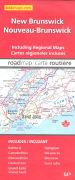 Cover-Bild zu New Brunswick / Nouveau-Brunswick. 1:100'000