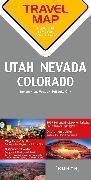 Cover-Bild zu Reisekarte Nevada / Utah / Colorado 1:800.000