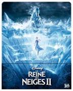 Cover-Bild zu Buck, Chris (Reg.): La Reine des Neiges 2 - 3D + 2D Steelbook