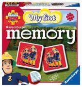 Cover-Bild zu Hurter, William H.: Ravensburger 21204 - Mein erstes memory® Fireman Sam, der Spieleklassiker für die Kleinen, Kinderspiel für alle Fireman Sam Fans ab 2 Jahren
