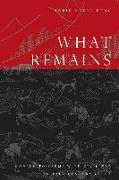 Cover-Bild zu Meyer-Fong, Tobie: What Remains: Coming to Terms with Civil War in 19th Century China