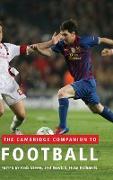 Cover-Bild zu Novick, Jed (Hrsg.): The Cambridge Companion to Football