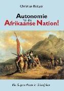 Cover-Bild zu Böttger, Christian: Autonomie für die Afrikaanse Nation!