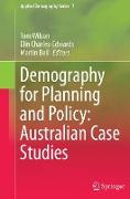 Cover-Bild zu Wilson, Tom (Hrsg.): Demography for Planning and Policy: Australian Case Studies