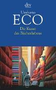 Cover-Bild zu Die Kunst des Bücherliebens von Eco, Umberto
