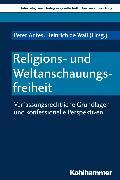 Cover-Bild zu Religions- und Weltanschauungsfreiheit (eBook) von Heinzmann, Richard (Beitr.)