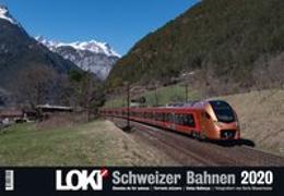 Cover-Bild zu LOKI-Kalender Schweizer Bahnen 2020