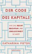 Cover-Bild zu Pistor, Katharina: Der Code des Kapitals