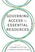 Cover-Bild zu Pistor, Katharina (Hrsg.): Governing Access to Essential Resources (eBook)
