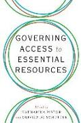 Cover-Bild zu Pistor, Katharina (Columbia Law School) (Hrsg.): Governing Access to Essential Resources
