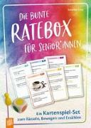 Cover-Bild zu Die bunte Ratebox für Senioren und Seniorinnen von Lietz, Susanne