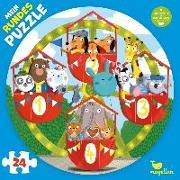 Cover-Bild zu Behl, Anne-Kathrin (Illustr.): Mein rundes Puzzle - Auf dem Riesenrad