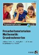 Cover-Bild zu Freiarbeitsmaterialien Mathematik Grundrechenarten von Eggert, Jens