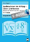 Cover-Bild zu Sachrechnen im Alltag - üben und testen (eBook) von Eggert, Jens