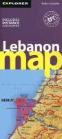 Cover-Bild zu Lebanon Road Map 1 : 250 000