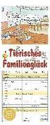 Cover-Bild zu Mayr, Johann (Illustr.): Tierisches Familienglück 2022