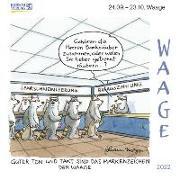 Cover-Bild zu Korsch, Verlag (Hrsg.): Waage Mini 2022