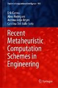 Cover-Bild zu Recent Metaheuristic Computation Schemes in Engineering (eBook) von Cuevas, Erik