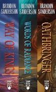 Cover-Bild zu Sanderson, Brandon: The Stormlight Archive, Books 1-3 (eBook)
