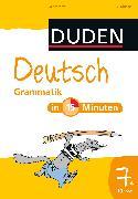 Cover-Bild zu Deutsch in 15 Minuten - Grammatik 7. Klasse (eBook) von Dudenredaktion, Dirk