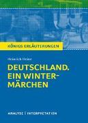 Cover-Bild zu Heine, Heinrich: Deutschland. Ein Wintermärchen von Heinrich Heine