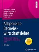 Cover-Bild zu Allgemeine Betriebswirtschaftslehre (eBook) von Thommen, Jean-Paul