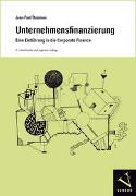 Cover-Bild zu Unternehmensfinanzierung von Thommen, Jean-Paul