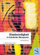 Cover-Bild zu Glaubwürdigkeit im Stakeholder-Management von Thommen, Jean-Paul