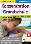 Cover-Bild zu Konzentration Grundschule von Pauly, Hans-Peter