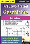 Cover-Bild zu Kreuzworträtsel Geschichte / Altertum von Pauly, Hans-Peter