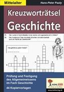 Cover-Bild zu Kreuzworträtsel Geschichte / Mittelalter von Pauly, Hans-Peter