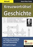 Cover-Bild zu Kreuzworträtsel Geschichte / Aktuell von Pauly, Hans-Peter