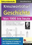 Cover-Bild zu Kreuzworträtsel Geschichte / Aktuell (eBook) von Pauly, Hans-Peter