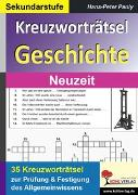 Cover-Bild zu Kreuzworträtsel Geschichte / Neuzeit (eBook) von Pauly, Hans-Peter