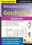 Cover-Bild zu Kreuzworträtsel Geschichte / Altertum (eBook) von Pauly, Hans-Peter