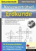 Cover-Bild zu Kreuzworträtsel Erdkunde (eBook) von Pauly, Hans-Peter