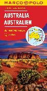Cover-Bild zu Australia Marco Polo Map. 1:4'000'000