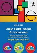 Cover-Bild zu Lernen sichtbar machen für Lehrpersonen von Hattie, John