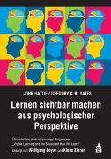 Cover-Bild zu Lernen sichtbar machen aus psychologischer Perspektive von Hattie, John