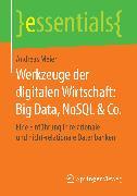 Cover-Bild zu Werkzeuge der digitalen Wirtschaft: Big Data, NoSQL & Co (eBook) von Meier, Andreas