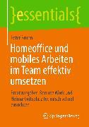Cover-Bild zu Homeoffice und mobiles Arbeiten im Team effektiv umsetzen (eBook) von Bruhn, Peter