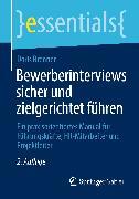 Cover-Bild zu Bewerberinterviews sicher und zielgerichtet führen (eBook) von Brenner, Doris