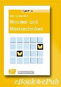Cover-Bild zu Die 50 besten Mnemo- und Merktechniken - eBook (eBook) von Boos, Agnes