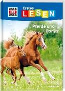 Cover-Bild zu Braun, Christina: WAS IST WAS Erstes Lesen Band 7. Pferde und Ponys