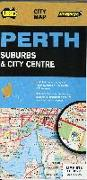 Cover-Bild zu Perth City Streets & Suburbs 1 : 25 000. 1:25'000