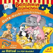 Cover-Bild zu Andreas, Vincent: Benjamin Blümchen - Gute-Nacht-Geschichten 23: Kleine Helden (Audio Download)