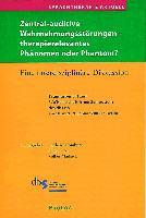 Cover-Bild zu Sprachtherapie Aktuell / Zentral-auditive Wahrnehmungsstörungen von Homburg, Gerhard