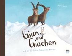 Cover-Bild zu Jackowski, Amélie (Illustr.): Gian und Giachen und der Furchtlose Schneehase Vincenz