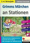 Cover-Bild zu Grimms Märchen an Stationen / Klasse 3-4 von Rosenwald, Gabriela